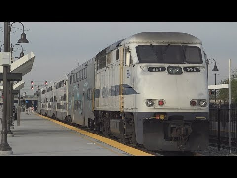 Railfanning San Bernardino - Downtown - 1/16/18
