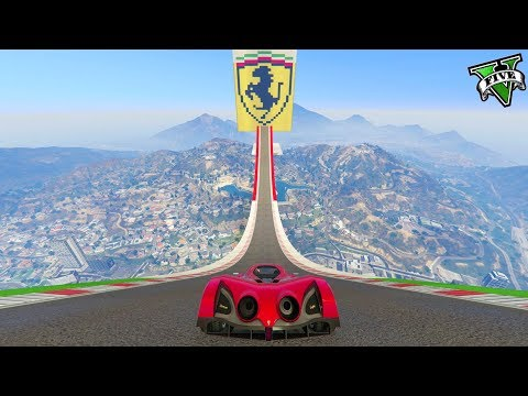 GTA 5 ONLINE 🐷 MEGA RAMPA FERRARI !!! 🐷 GARE PARKOUR 🐷N*430🐷 GTA 5 ITA 🐷 DAJE !!! thumbnail