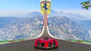 GTA 5 ONLINE 🐷 MEGA RAMPA FERRARI !!! 🐷 GARE PARKOUR 🐷N*430🐷 GTA 5 ITA 🐷 DAJE !!!