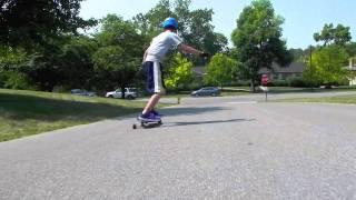 Shade Fades longboarding