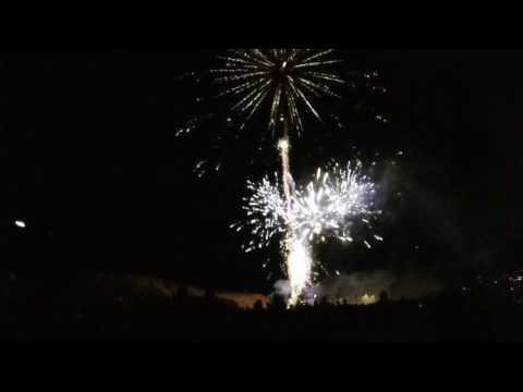 2017 Colorado School Of Mines E-Days Fireworks Show In HD