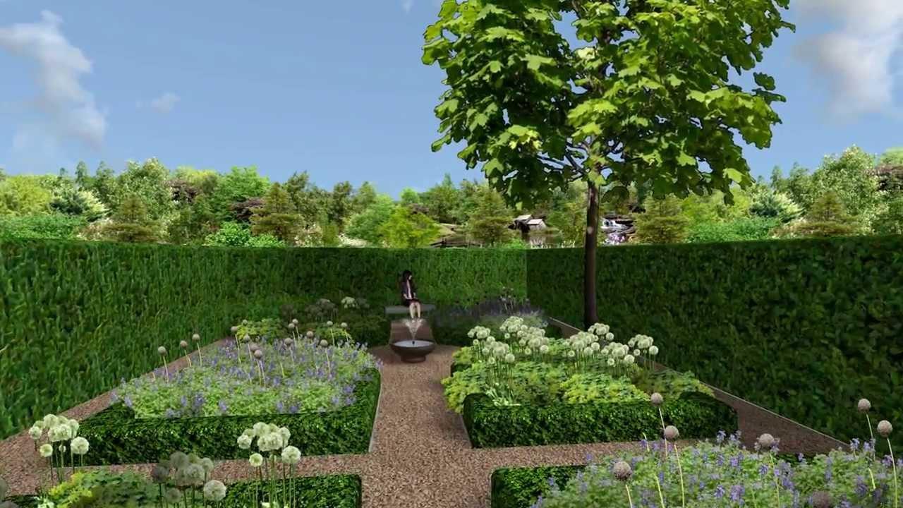 Herman vaessen 3d tuinontwerp renovatie grote landelijke for Eigen moestuin ontwerpen en aanleggen