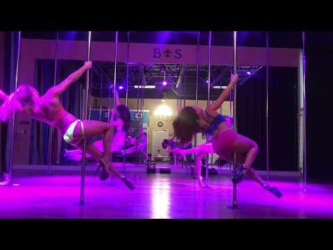 Havana - Camila Cabello Intermediate Pole Dance Routine 12-14-17