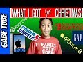 CHRISTMAS MORNING WHAT I GOT FOR CHRISTMAS VLOG & UNBOXING OPENING CHRISTMAS PRESENTS Gabe Tube TV