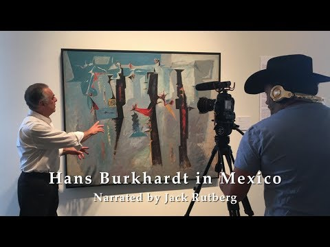 HANS BURKHARDT IN MEXICO  : PST LA/LA