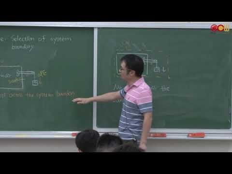 熱力學(一) Lec16 第三章 熱力學第一定律 (6/6) + 第四章 控制體積之能量守恆方程式 (1/3) - YouTube