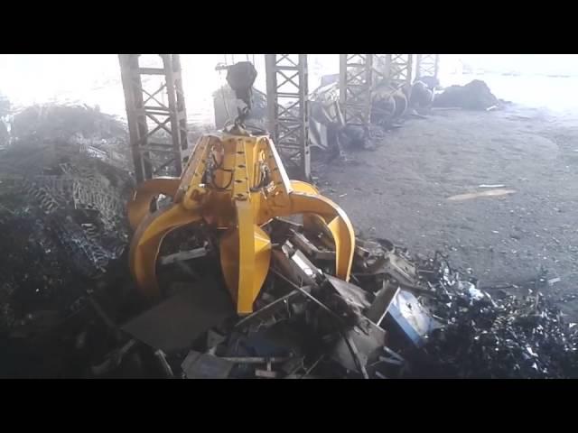 Electro-hydraulic Grabs