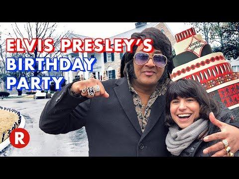 Elvis Presley's Birthday Party at Graceland! // Memphis, TN & Tupelo, MS