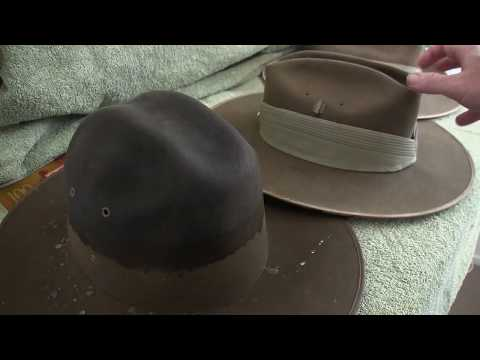 How To Bash An Australian Slouch Hat