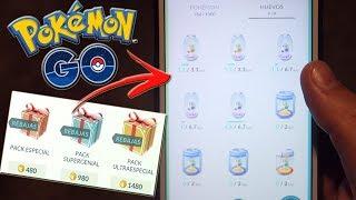 ¡ABRIENDO TODOS los HUEVOS ESPECIALES del NUEVO EVENTO de Pokémon GO! Compro ofertas! [Keibron]