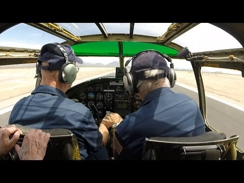 Maid In The Shade -- SimHQ rides in a B-25 Mitchell bomber with GoPro