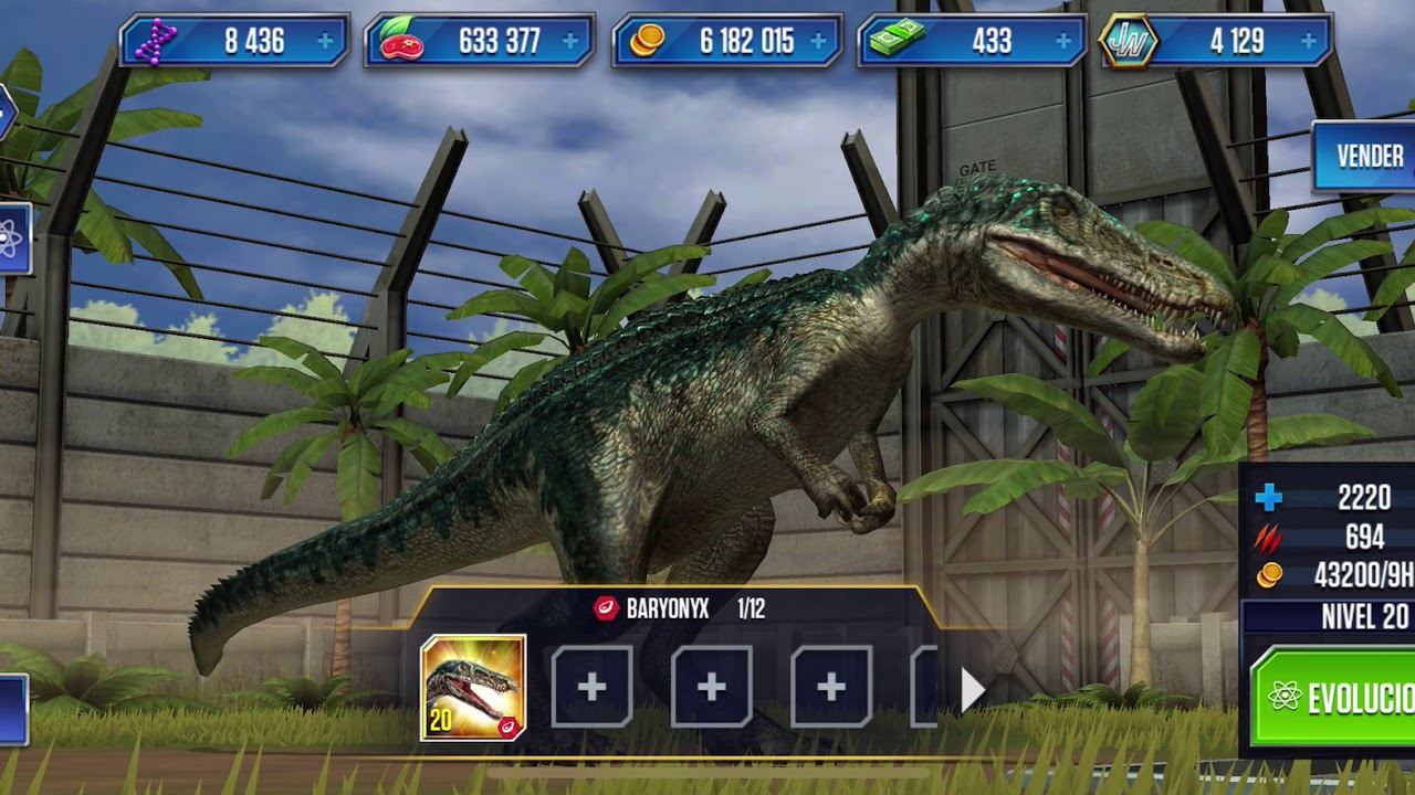 Jurassic world the game ep1