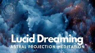 Guided Hypnosis Meditation for Lucid Dreaming, Deep Sleep & Dream Recall