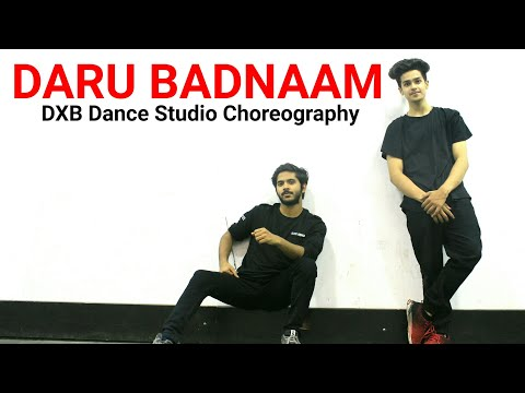 DARU BADNAAM | Kamal Kahlon & Param Singh - Dance Cover | DXB Dance Studio