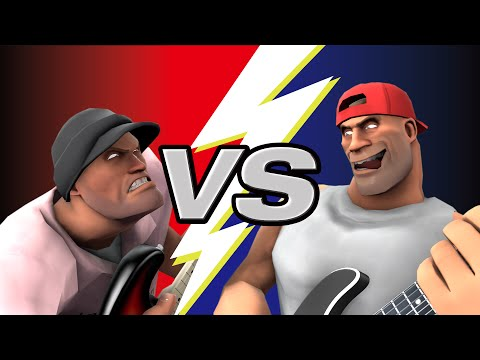 Slap Guitar Battle (animated) // ROB SCALLON & JARED DINES