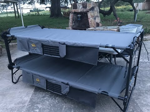 2XL Disco Bed from Cabelas, Review: Texas Style Cuisine
