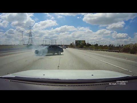 605 Freeway Baldwin Park Honda Civic Wipeouts Spin Lose Control 失控 Dome G90