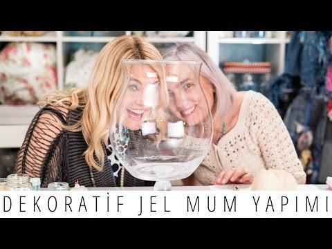 Dekoratif Jel Mum Yapımı | Derya Baykal