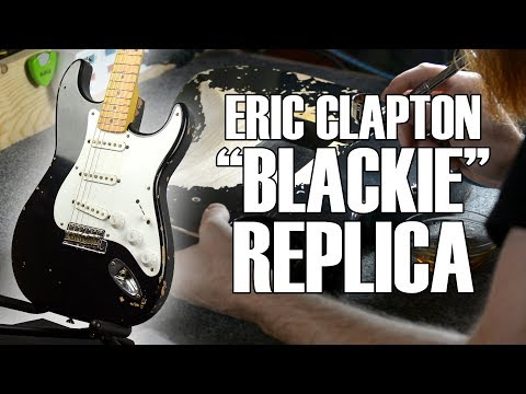 "Eric Clapton ""Blackie"" Replica By MCG"