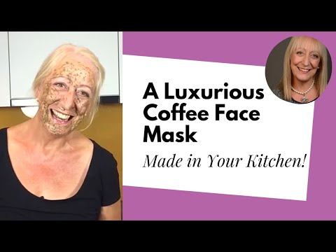 Making a Luxurious Coffee Face Mask from Natural Ingredients Already in Your Kitchen