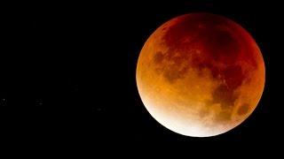 Super-Mondfinsternis: Der Blutmond sorgt weltweit für kollektives Staunen