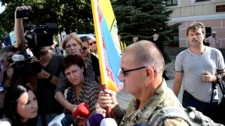 Доброволец бежавший от Путина из России, воюет с ним в Украине
