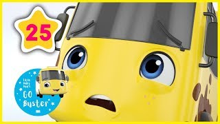 Sing Along With Buster! | Buster and the Carwash Song | GoBuster Official |  ABCs and 123s