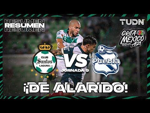 Resumen y goles | Santos vs Puebla | Grita México BBVA P2021 - J9 | TUDN