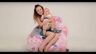 Обзор моделей бескаркасных кресел, мебель для детской, кресло груша