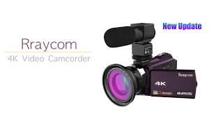 Rraycom 4k video camcorder