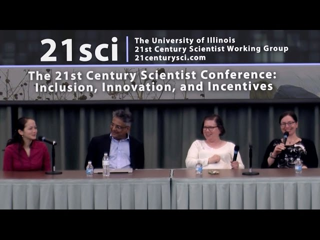 A screenshot from 21st Century Scientist Career Panel