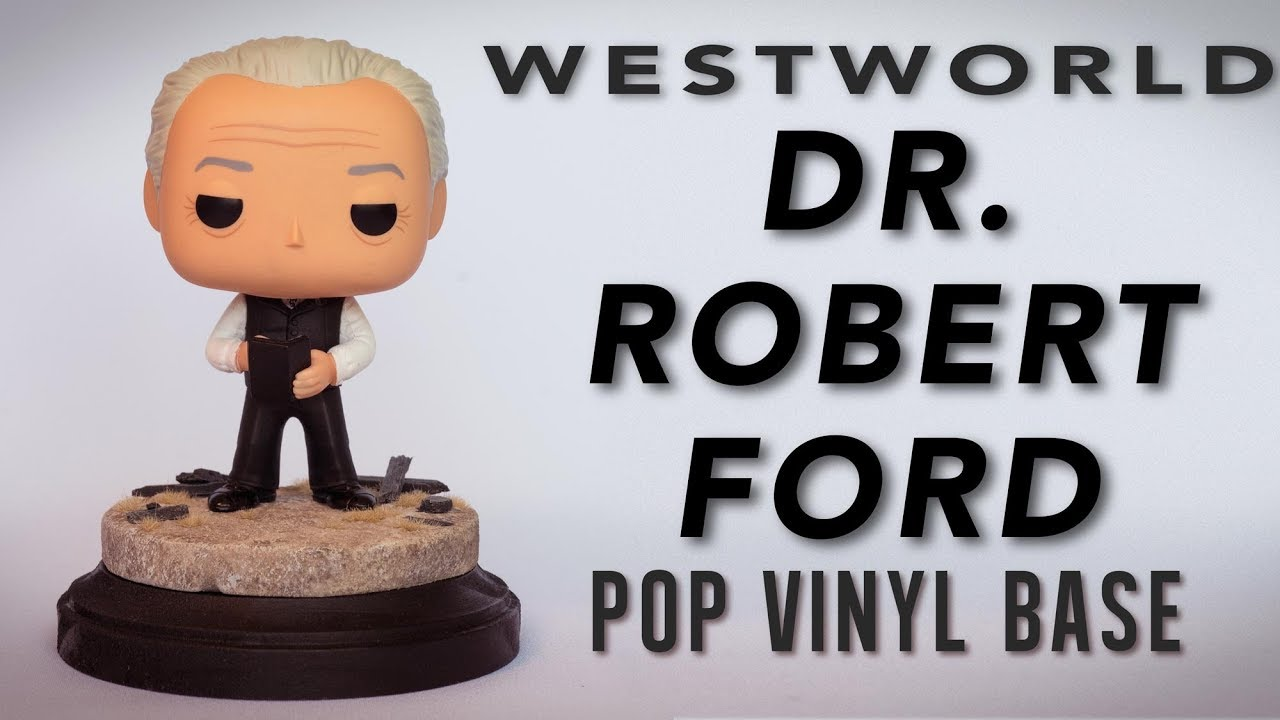 Westworld Funko POP Vinyl Dr Robert Ford