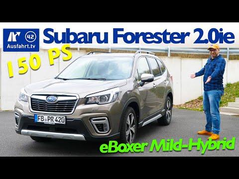 2020 Subaru Forester 2.0ie EBoxer MHEV - Kaufberatung, Test Deutsch, Review, Fahrbericht