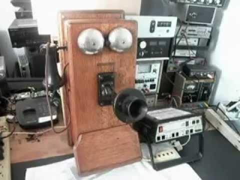 Western Electric 317 Wood Wall Crank Telephone Repair Www A1 Telephone Com 618 235 6959 Youtube