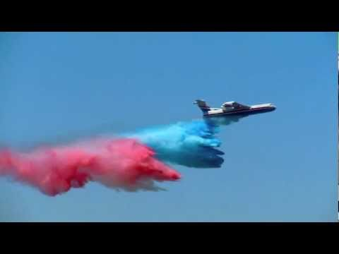 49th International Paris Air Show - Beriev BE-200 Flight Demonstration