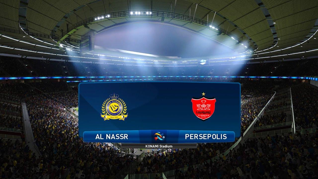 Pes 2021 Al Nassr Vs Persepolis Asia Afc Champions League 03 10 2020 1080p 60fps Youtube
