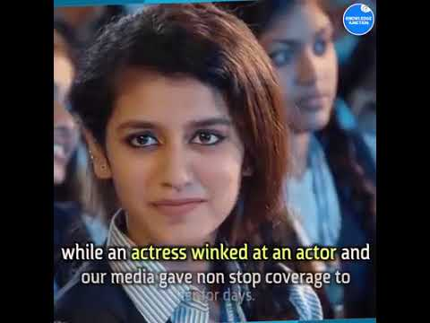 Is Priya Varrier an Indian? Priya Winks at Classmate