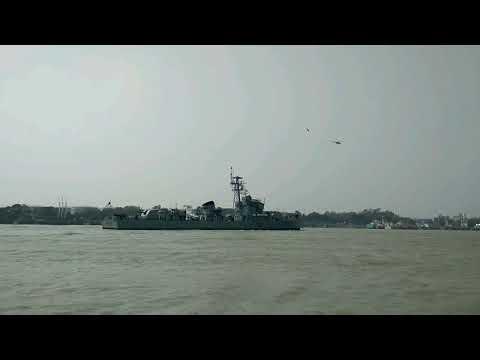 Beautiful scenery in Chittagong kornofuli river