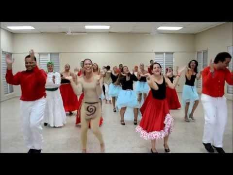 Baile Cultural Puerto Rico 2013