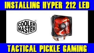 Upgrade time! Cooler Master Hyper 212 Led Cpu Cooler install! screenshot 5