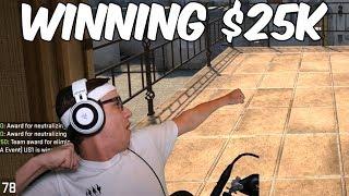 Winning $25k - CSGO Competitive #85