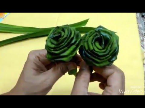 How to make bigger pandan roses