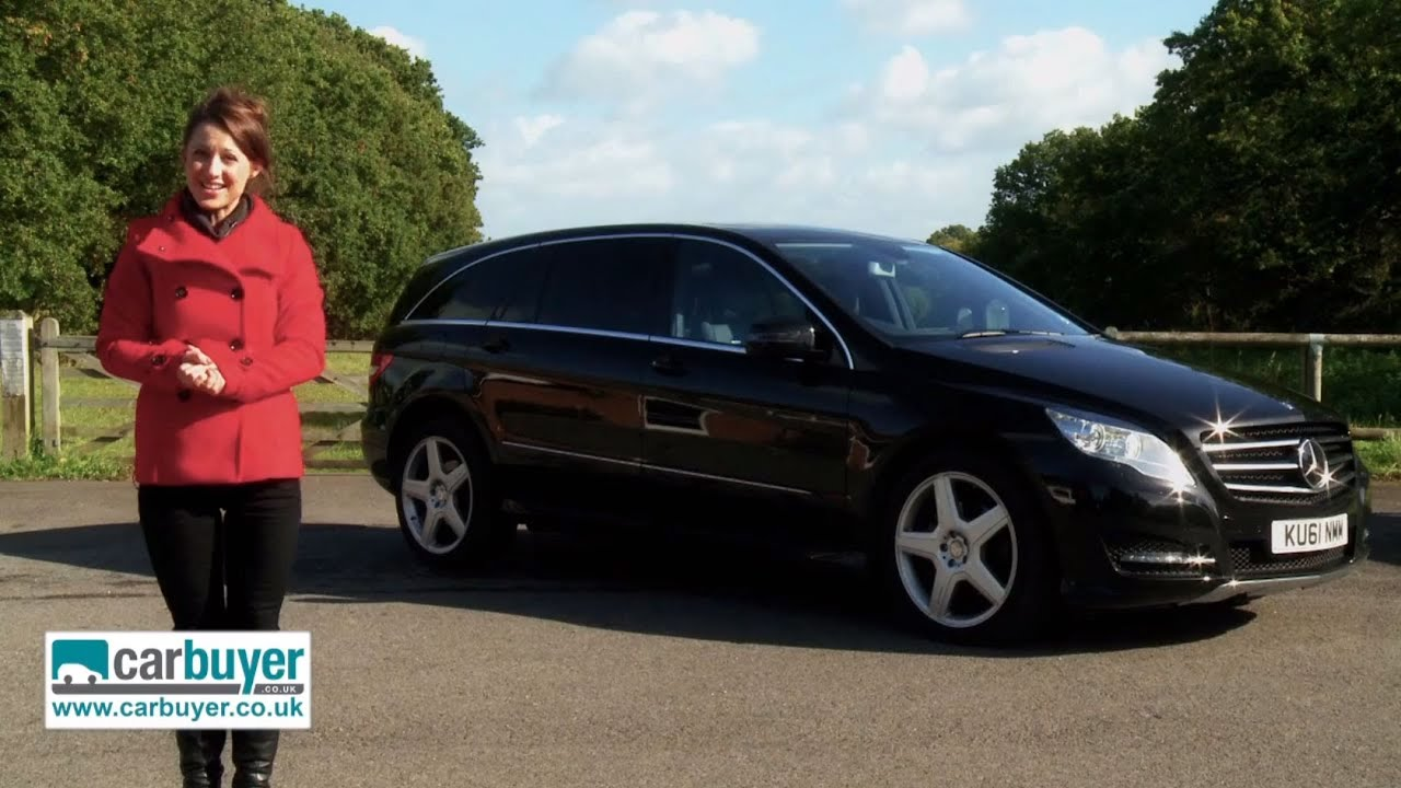 Mercedes r class mpv review carbuyer youtube for Mercedes benz mpv