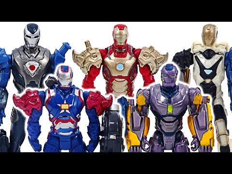 Marvel Avengers Iron-Man army! Defeat the Lego Thanos and Venom robots! | DuDuPopTOY |