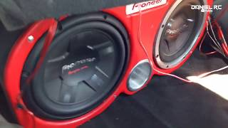 "Subwoofers Pioneer 12"" 400 RMS l Car Audio"