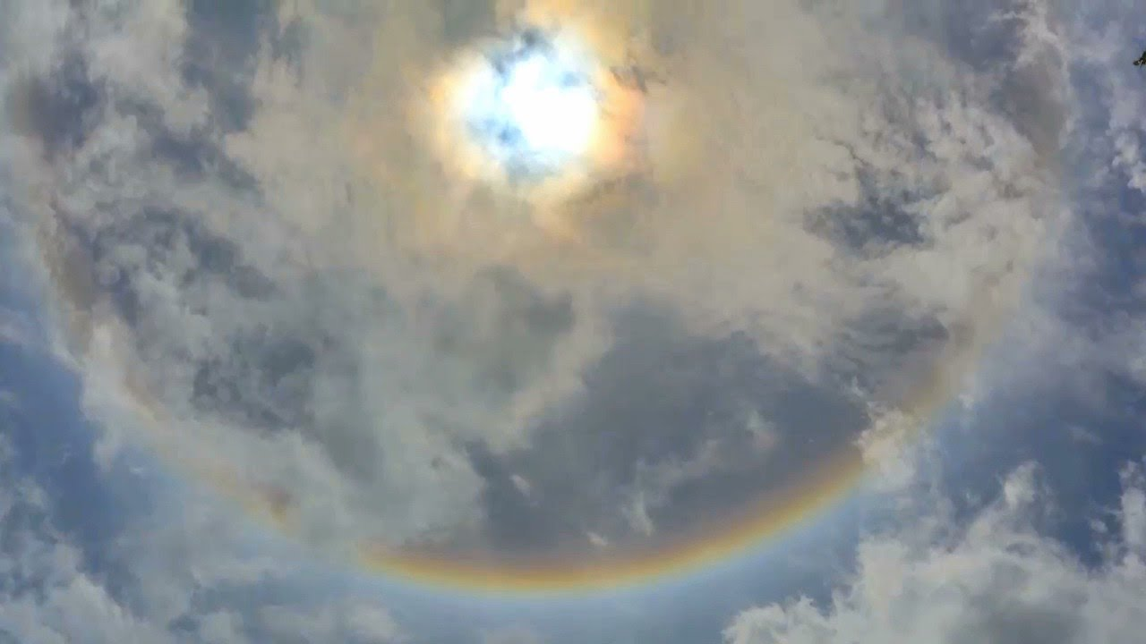 What's that ring around the sun? Sun halo?