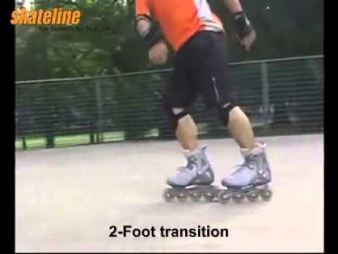 Hướng dẫn patin - Kĩ thuật quay chân về sau