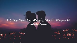 Download lagu YSABELLE CUEVAS - I LIKE YOU SO MUCH, YOU'LL KNOW IT | A LOVE SO BEAUTIFUL OST | LYRIC VIDEO