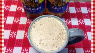 Home Style Caramel Apple Mocha ~ Torani Friday!~ Noreen's Kitchen