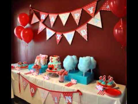 Elmo birthday party ideas diy image inspiration of cake and diy elmo birthday party decorations ideas youtube solutioingenieria Image collections
